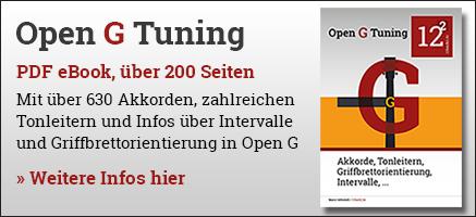 Open G Buch